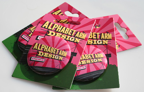 Alphabet Arm Button Packs