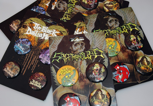 Button Packaging _ Metal Mania