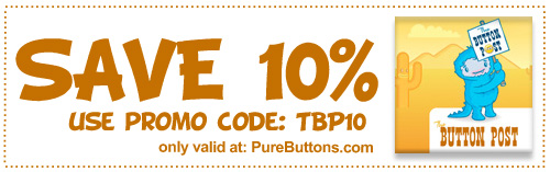 The Button Post - Promo Code w/ PureButtons