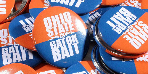 Promotional Buttons - Gator Bait