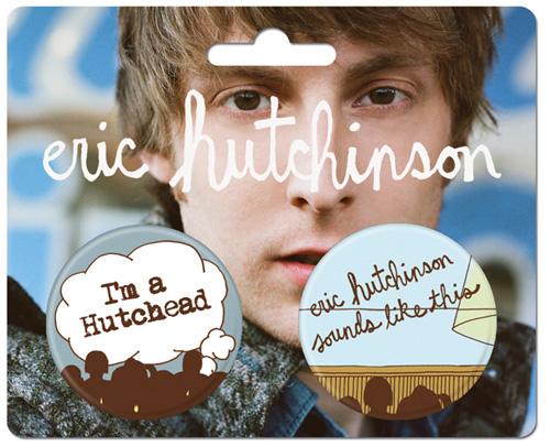 Eric Hutchinson Button Pack