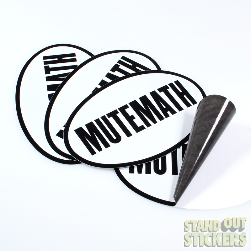 Mutemath Custom Sticker