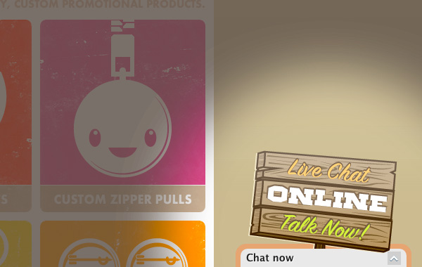 Live Chat at PureButtons - Instant Customer Service