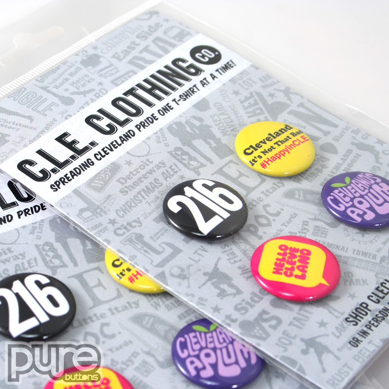 Custom Button Packs, Custom Buttons Made in USA