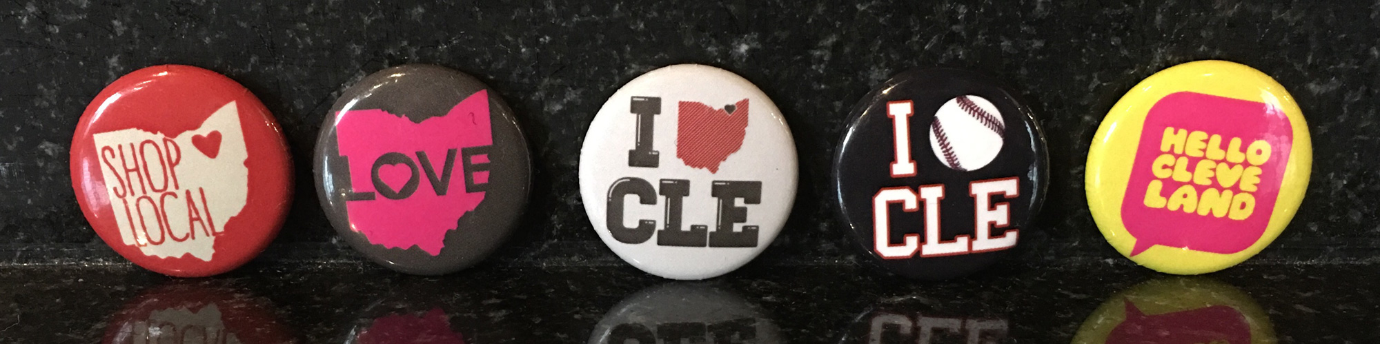 CLE Clothing 1 Inch Round Buttons