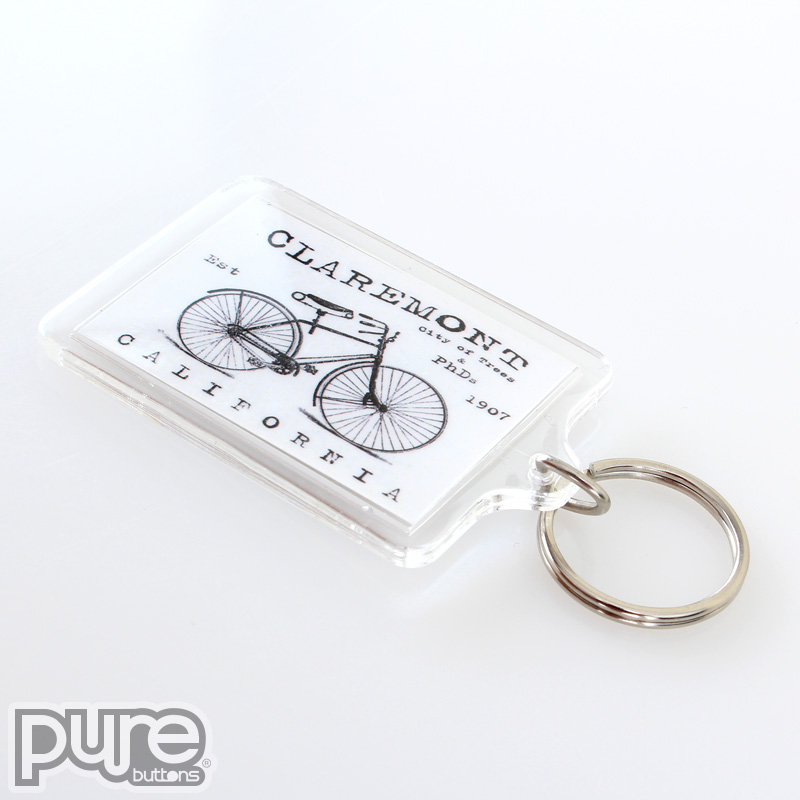 claremont california custom keychains