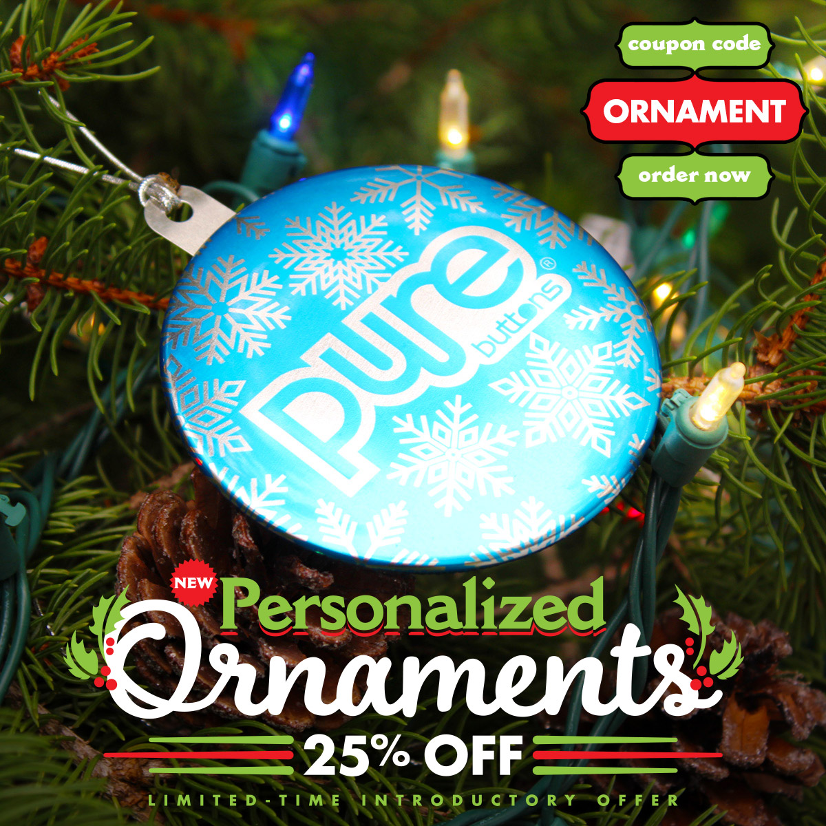 Personalized Ornaments Sale