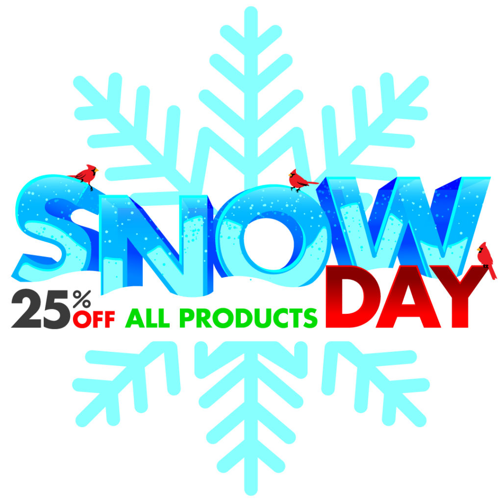 Snow Day Sale at Pure Buttons