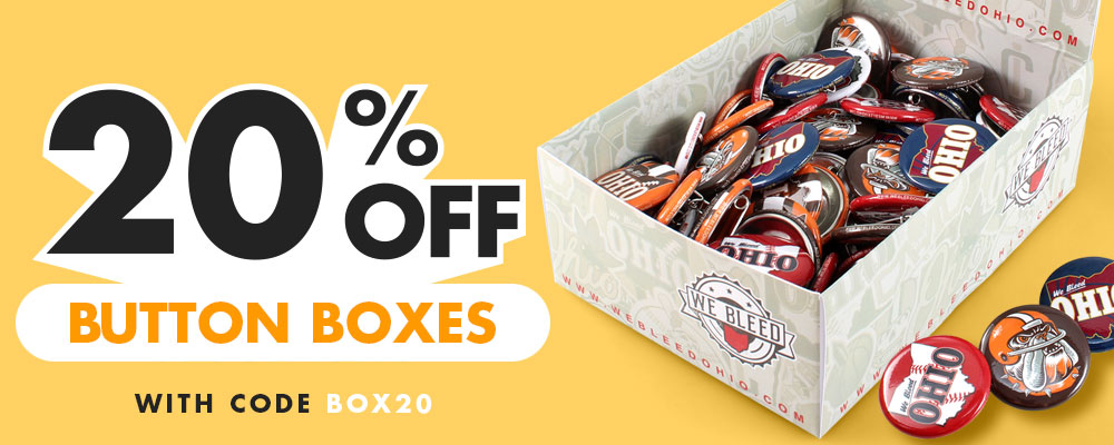 20% OFF Custom Button Display Boxes with code BOX20