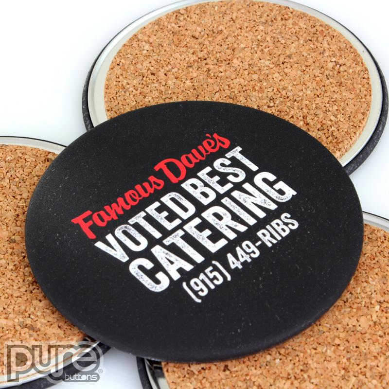 Custom Coasters for Famous Daves
