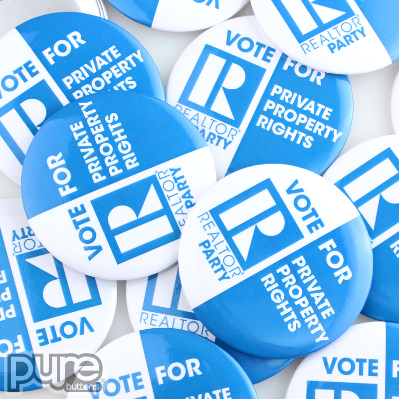 Realtor Party Custom Buttons